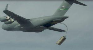 palletized munitions test