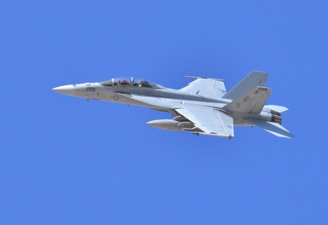 Super Hornet crash
