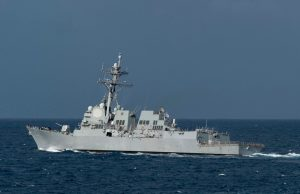US destroyer