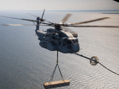 CH-53K King Stallion aerial refueling