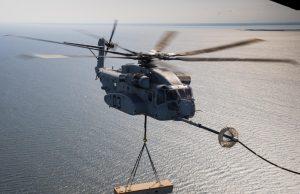 CH-53K King Stallion aerial refueling