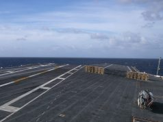 USS Gerald R. Ford (CVN 78) conducts special performance trials