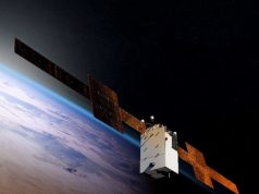 WGS-11+ wideband satellit