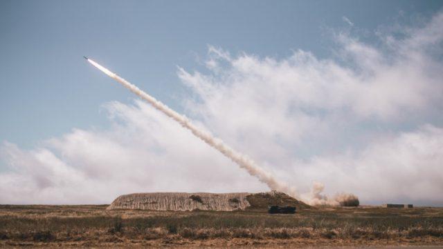 HIMARS launch