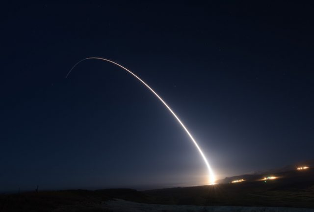 Minuteman III test launch