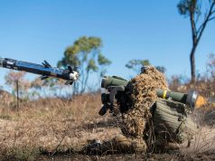 Australian Army soldiers with Javelin