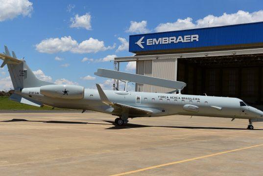 Brazilian Air Force E-99 AEW&C aircraft