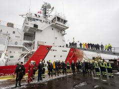 Canadian Coast interim icebreaker CCGS Jean Goodwill