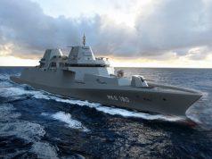 German Navy MKS 180 warship