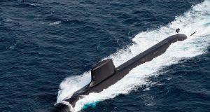 French attack submarine FS Suffren