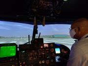 Sea Lynx helicopter simulator