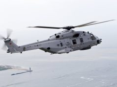 German navy Sea Lion NH90 helicopter
