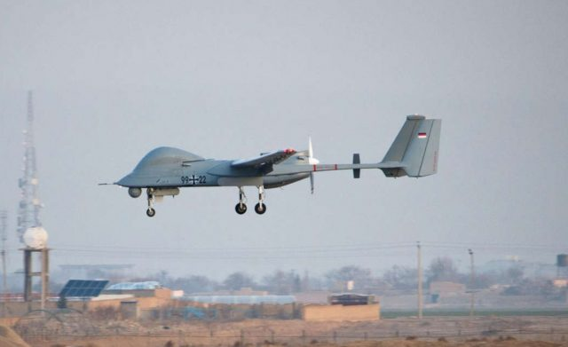 German Heron 1 UAS in Afghanistan