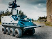 Weaponized Mission Master UGV