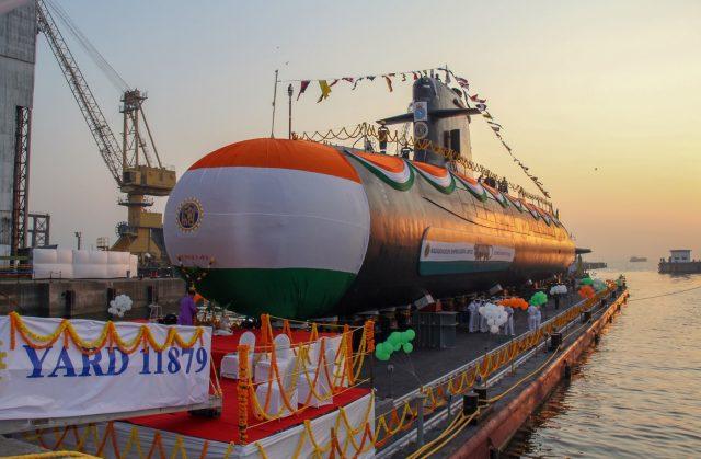Kalvari-class submarine INS Vagir