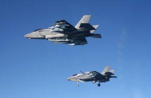 Italian F-35 in beast mode configuration