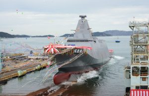 Launch of JS Kumano
