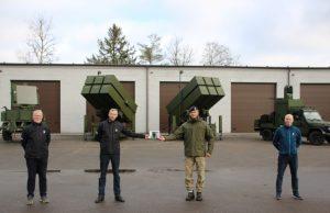 Lithuanian NASAMS handover ceremony