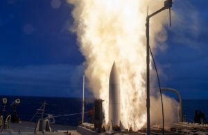 US Navy SM-6 missile launch