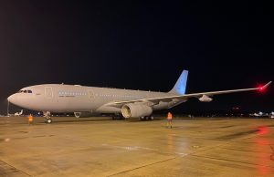 NATO's third MMF aircraft arrives in the Netherlands