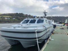 Sea-class workboat at BRNC