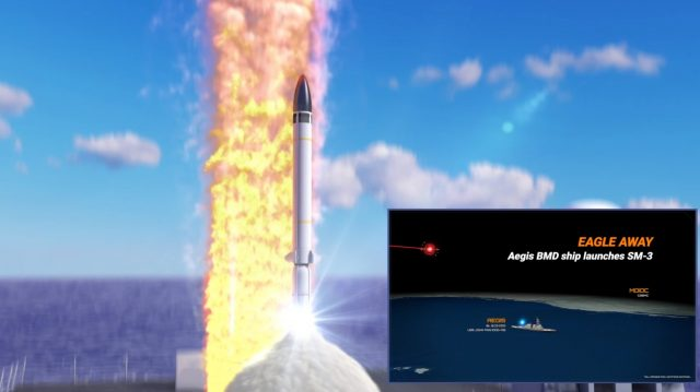 SM-3 launch animation