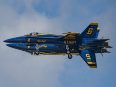 US Navy Blue Angels fortis maneuver