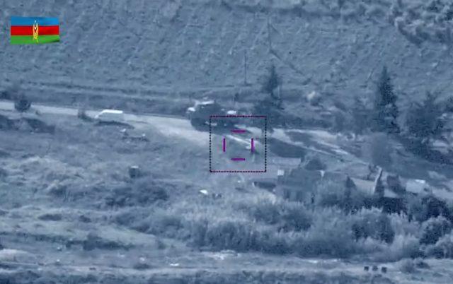 Azerbaijan UAS destroys Armenian TOR SAM system