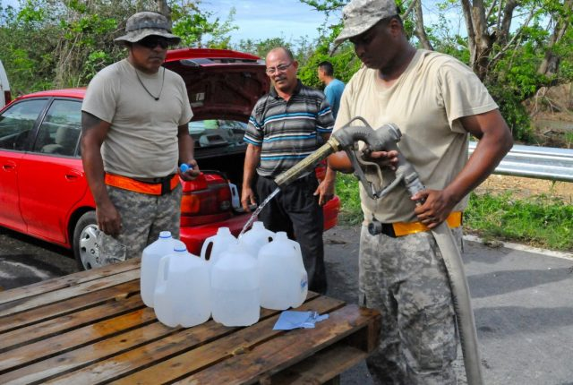 US Army soldiers in Puerto Rico
