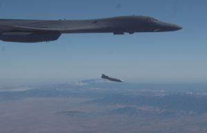 B-1B external JASSM launch