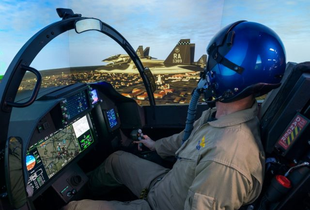 T-7A simulator