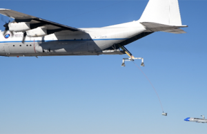 Gremlins reusable UAV recovery test