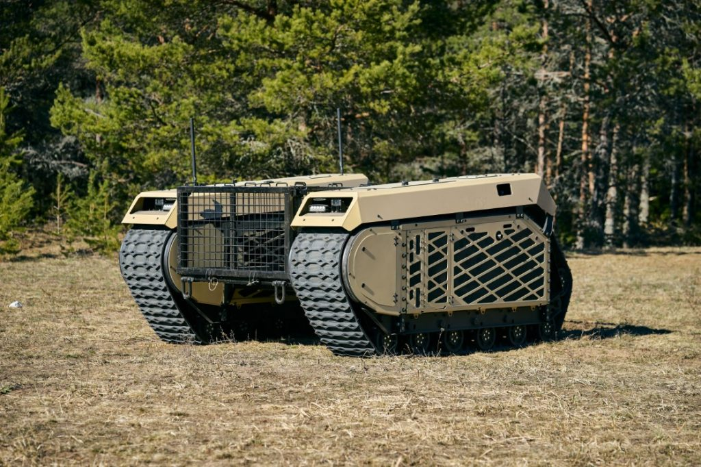THeMIS (Tracked Hybrid Modular Infantry System) is a multi-role unmanned ground vehicle (UGV)