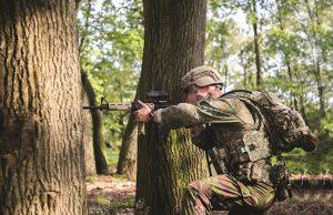 Dutch Army digital soldier