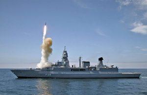 Sachsen-class air defense frigate