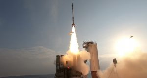 David's Sling test launch