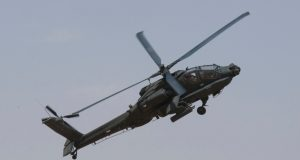 Kuwait Air Force AH-64 Apache helicopter