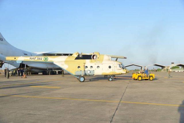 Mi-171E in Nigeria