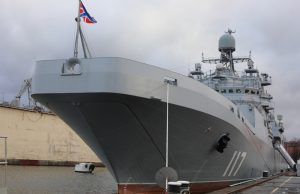 Russian Navy landing ship Pyotr Morgunov