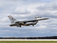 Air National Guard F-16 fighter