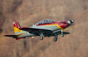 Spanish Air Force PC-21 turboprop trainer