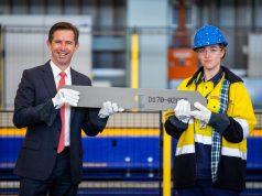 Hunter-class steel-cutting ceremony
