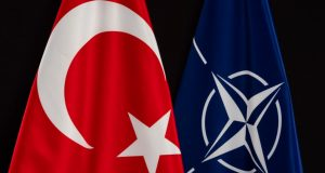 NATO Turkey flags