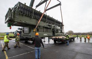 Lanza Long Tactical Range 25 (LTR25) radar arriving in the UK