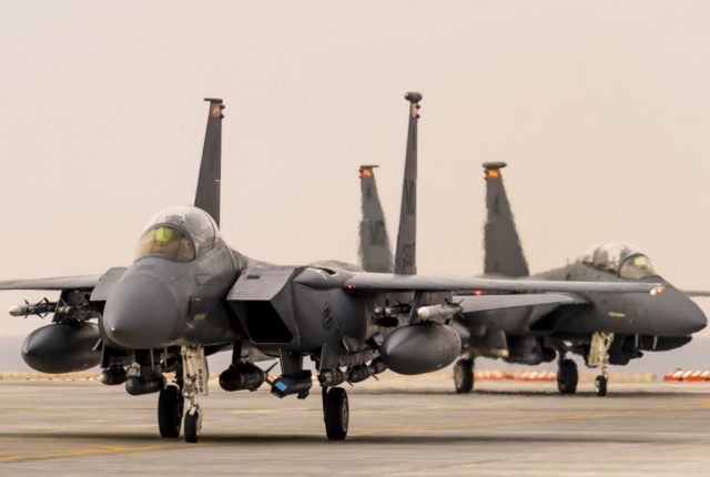 F-15E Strike Eagle in Asia