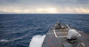 USS John S. McCain Spratly Islands FONOP