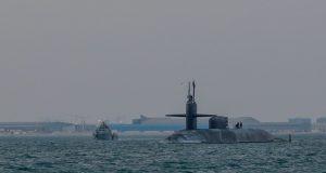USS Georgia in Persian Gulf