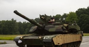M1 Abrams with Trophy APS