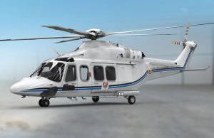 Colombian Air Force AW139 presidential helicopter