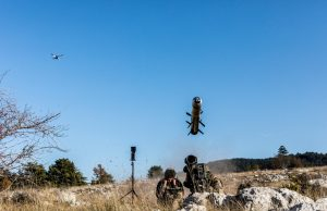 MMP with a Novadem drone for beyond line of sight engagement